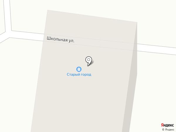 Старый город на Карбышева на карте