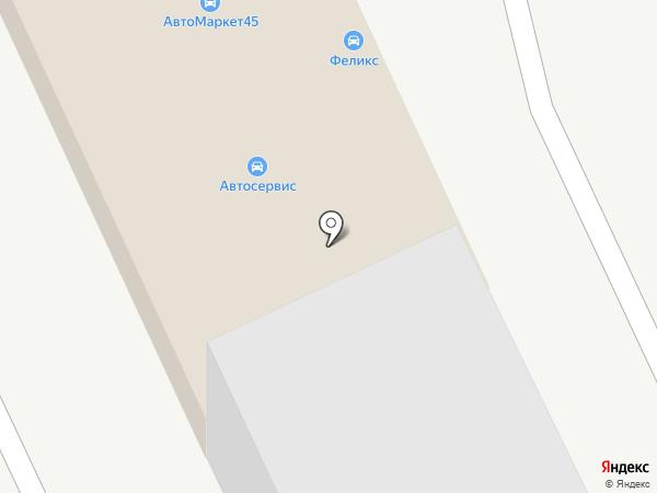 Автошанс на карте