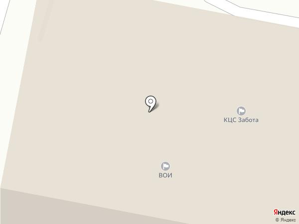 Забота на карте