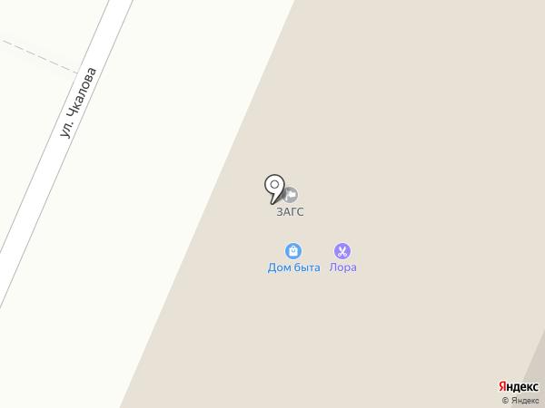 Ларец на карте