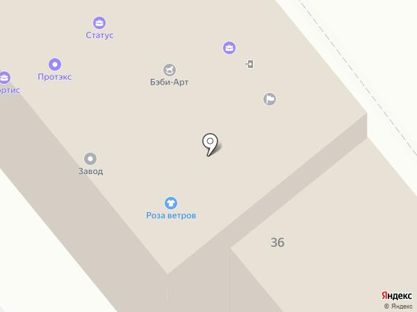 Круг Берегинь на карте