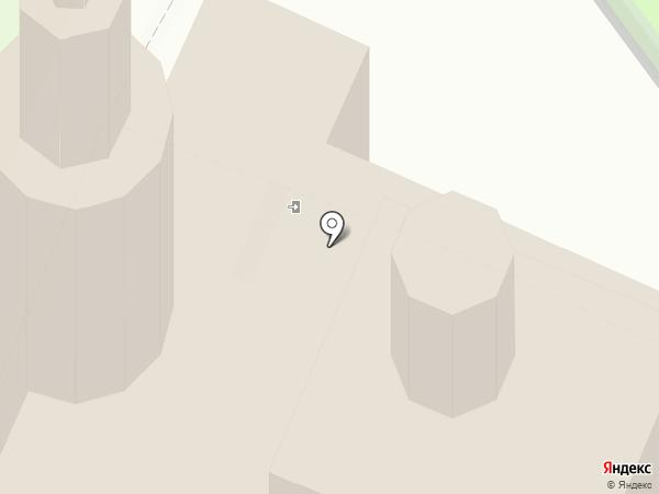 Богоявленский кафедральный собор на карте