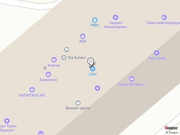 ЕвроОкно Стандарт-Курган на карте