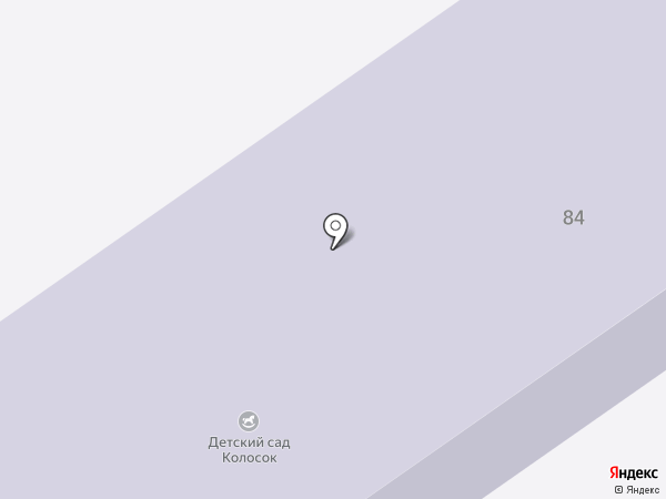 Колосок на карте
