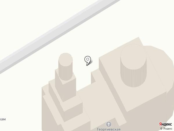Храм в честь великомученика Святого Георгия Победоносца на карте