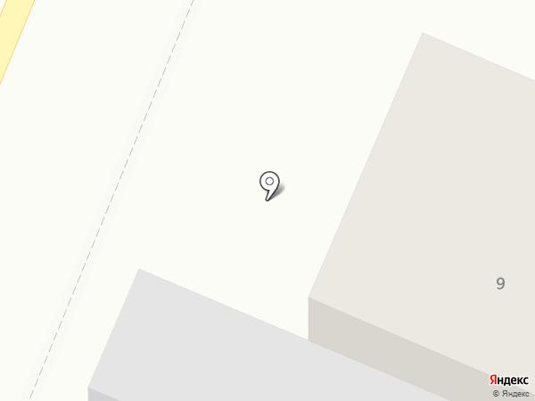 Шиномонтажная мастерская на Северной на карте
