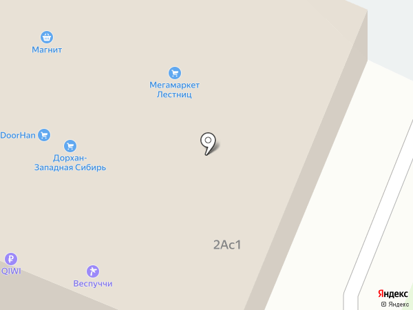 Дарнас на карте