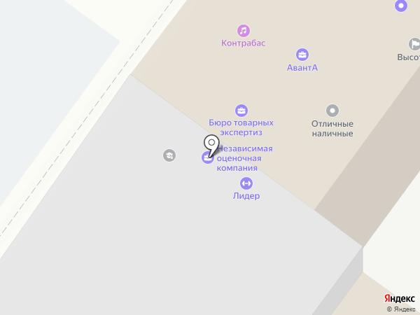 Ок-сервис на карте