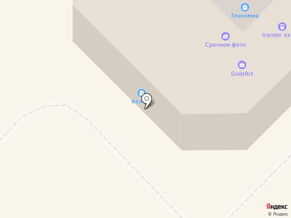 Женева на карте