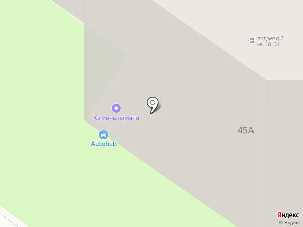 Калифорния на карте