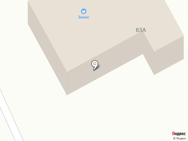 Продуктовый магазин на Береговой на карте