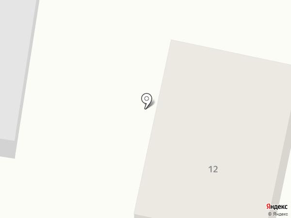 Уютный на карте