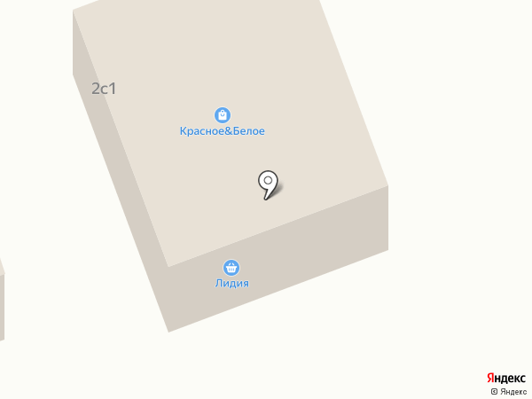 Лидия на карте
