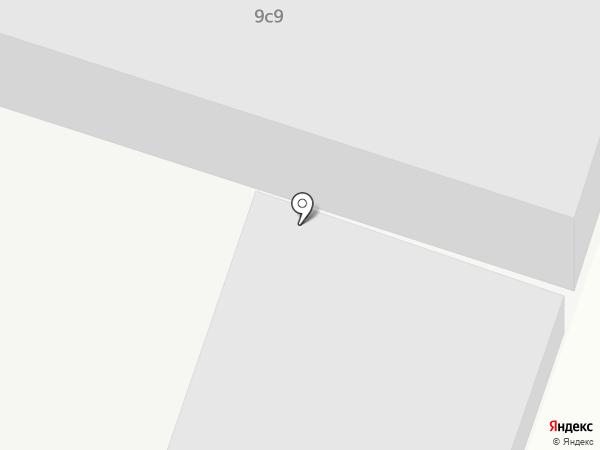 Автомойка на ул. Сирина на карте