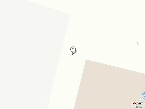 Магнит Деталь на карте
