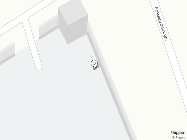 Автостоянка на Заводской на карте