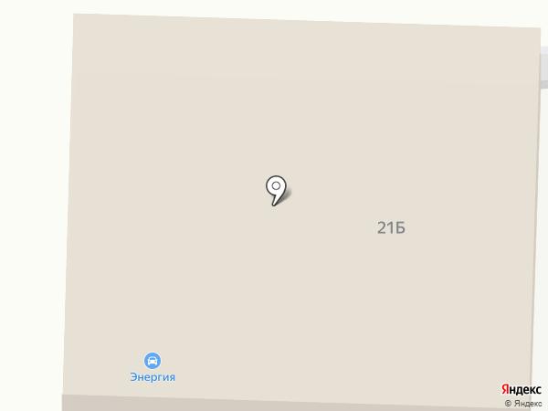 Платная автостоянка на карте