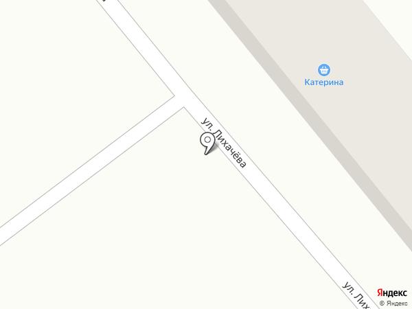 Катерина на карте