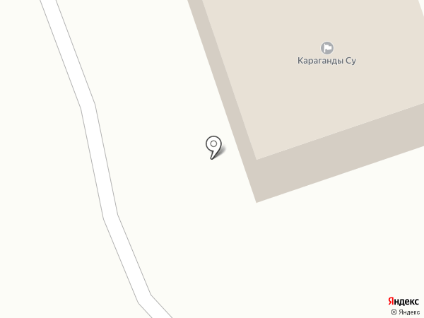 Қарағанды Су, ТОО на карте