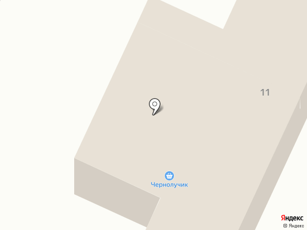 ЧерноЛучик на карте
