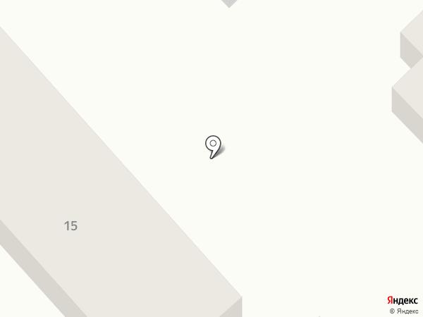 На Северной на карте