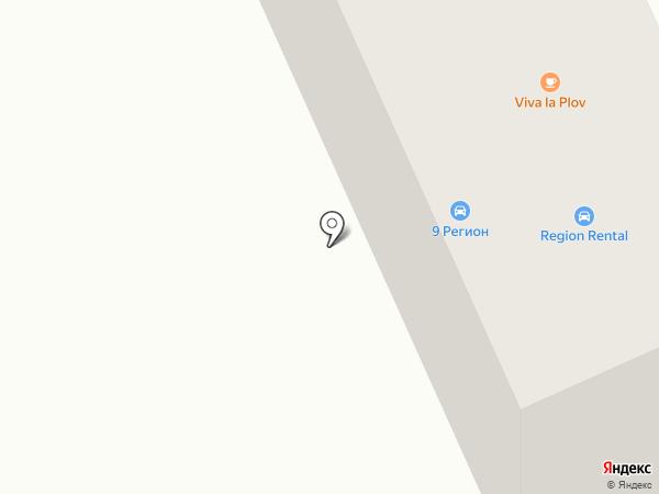 9 регион на карте