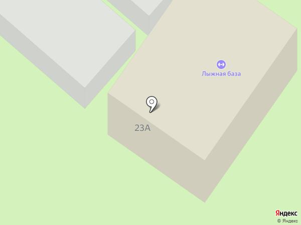 Лыжная база на карте