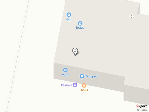 КаРаГандинец на карте