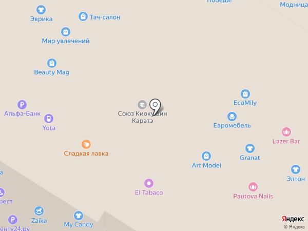 Этти Детти на карте