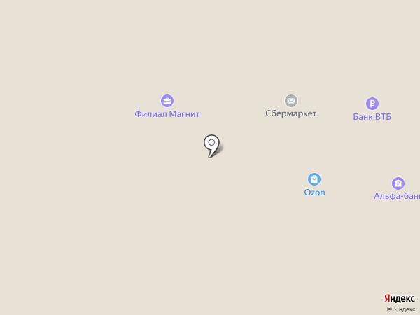 Детский низкоцен на карте