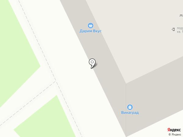 Грильяж на карте