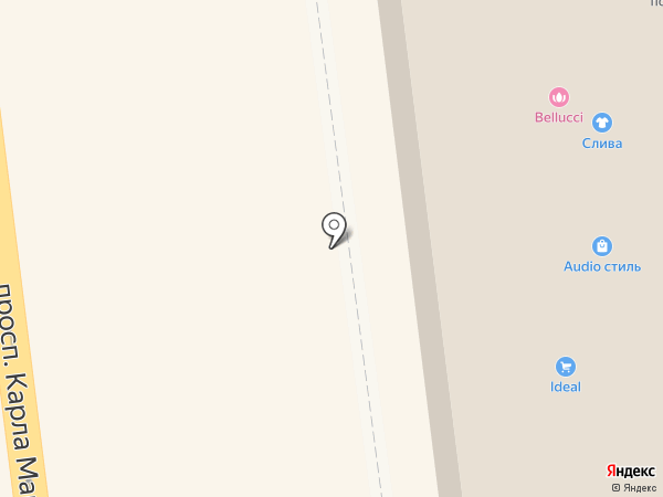Кружеva на карте