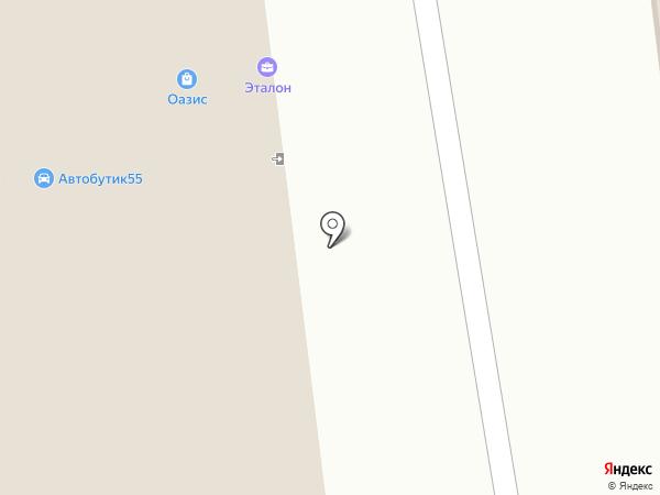 Никатэн на карте