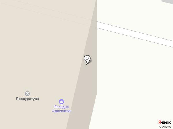 Прокуратура г. Сургута на карте