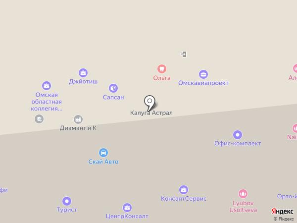 Ledi. kz на карте