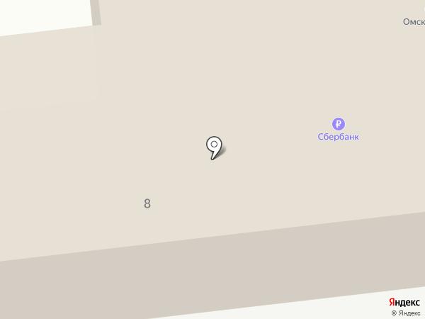 Омскэлектро на карте