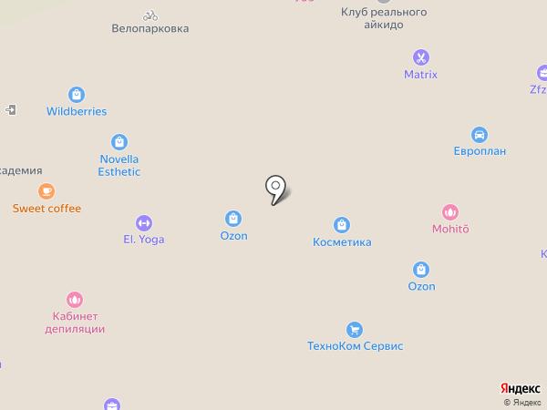 1-ый компьютерный сервис на карте