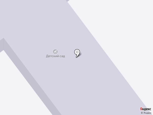 Ульяновский детский сад на карте