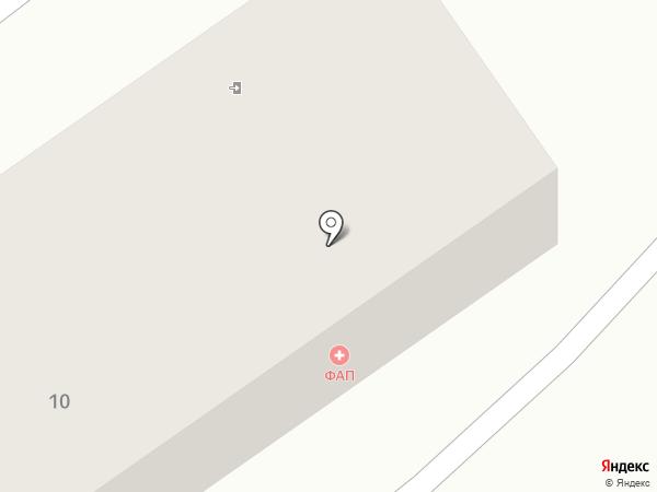 Ульяновский фельдшерско-акушерский пункт на карте