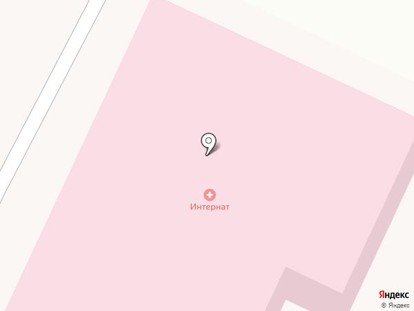 Пушкинский психоневрологический интернат на карте