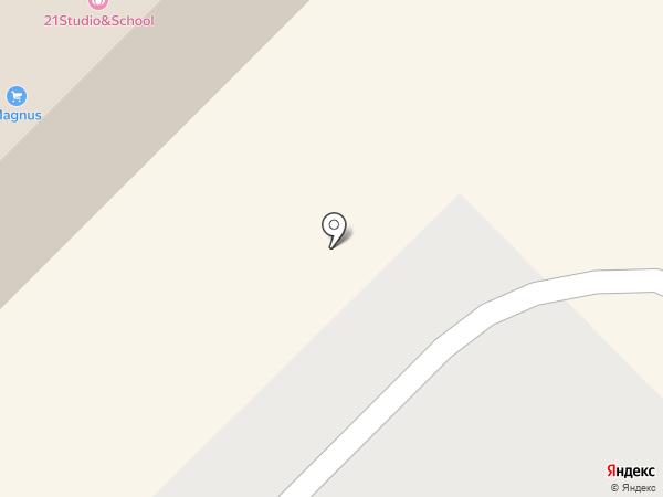MAGNUS на карте