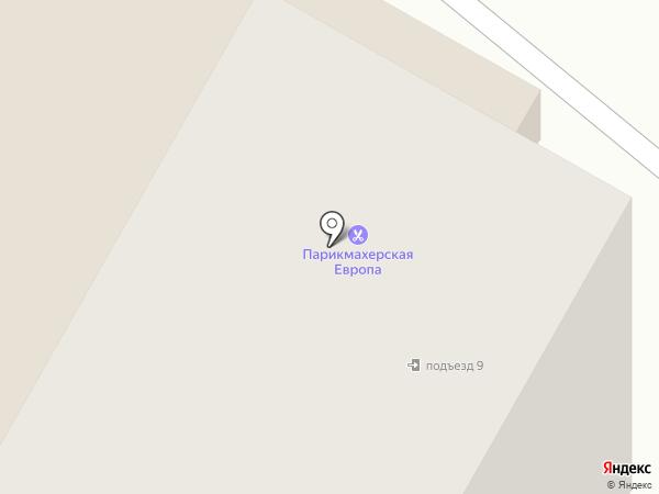 Де Л`арт на карте