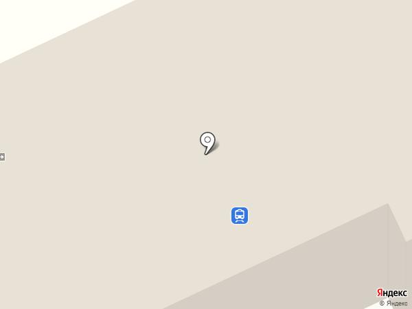 Ханымей на карте