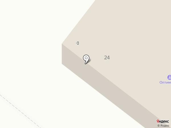Высокий на карте