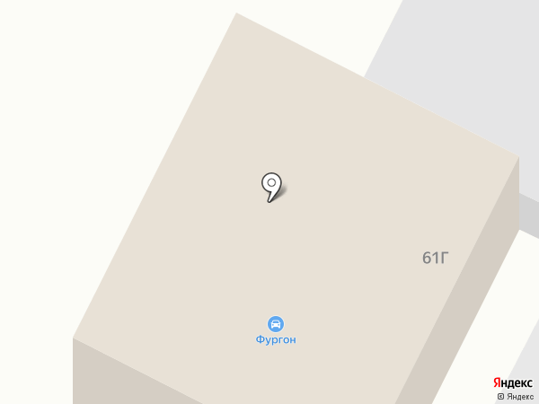 Фургон на карте