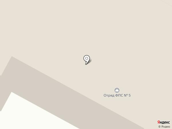 5 отряд ФПС по Ханты-Мансийскому автономному округу-Югре на карте