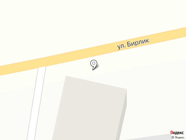Алмас на карте