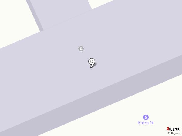 Средняя школа им. К. Азербаева на карте