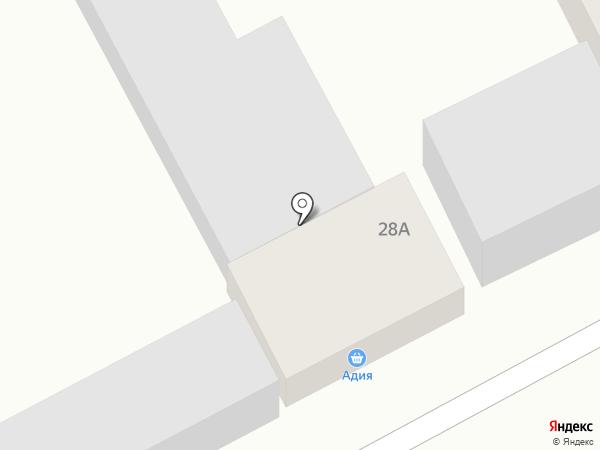 Адия на карте