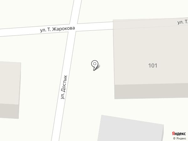 Дильназ на карте